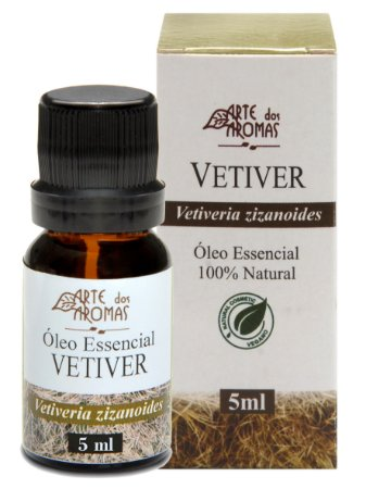 Vetiver Óleo Essencial 5ml