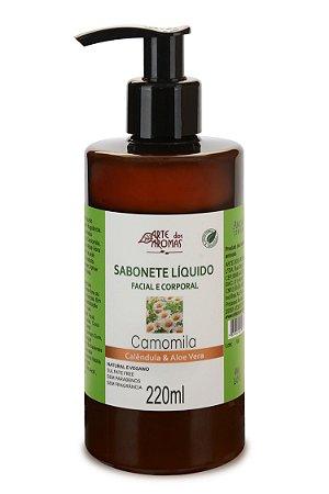 Sabonete Líquido Camomila Neutro Arte dos Aromas 220ml