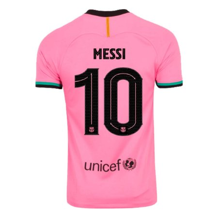 Camisa Barcelona III 20/21 Nike - Masculina - Messi 10