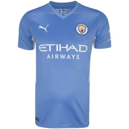 Camisa Manchester City I 21/22 Puma - Masculina