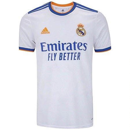 Camisa Real Madrid I 21/22 adidas - Masculina