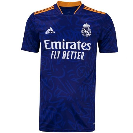 Camisa Real Madrid II 21/22 adidas - Masculina