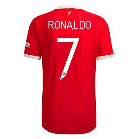 Camisa Manchester United I 21/22 adidas - 7 Ronaldo