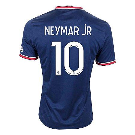 Camisa PSG X Jordan I 21/22 Nike - Neymar 10