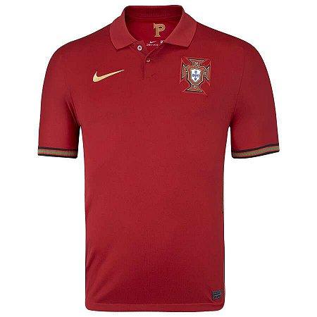 Camisa Seleção de Portugal I 20/21 Nike - Masculina