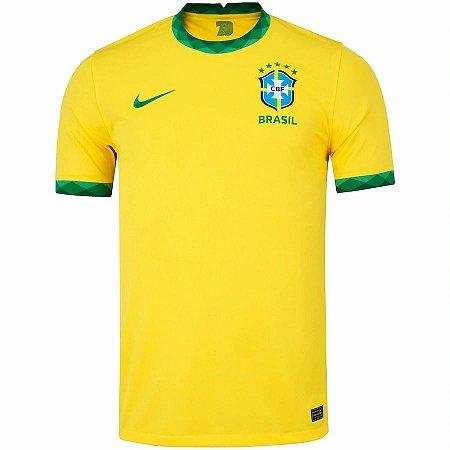 Camisa da Seleção Brasileira I 2020 Nike Torcedor - Masculina
