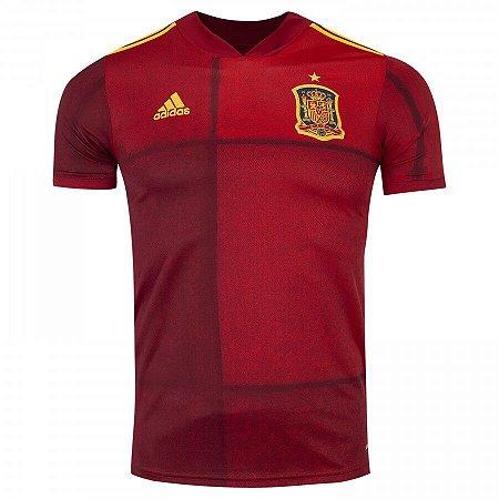 Camisa Seleção Espanha 2020 s/n° Torcedor Adidas Masculina