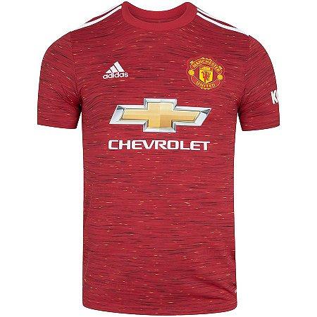 Camisa Manchester United I adidas 20/21 - Masculina