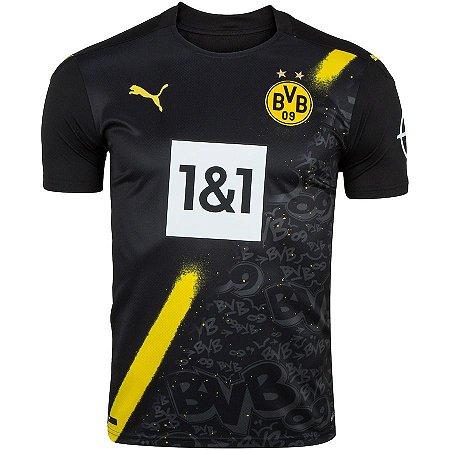 Camisa Borussia Dortmund II 20/21 Puma - Masculina
