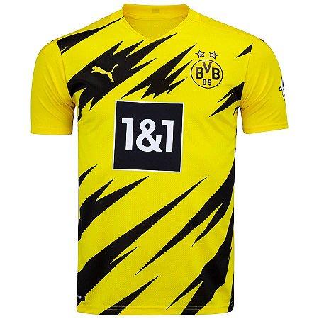 Camisa do Borussia Dortmund I 20/21 Puma - Masculina