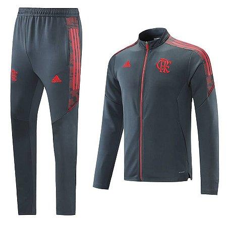 Conjunto Flamengo 21/22 Adidas - Masculina