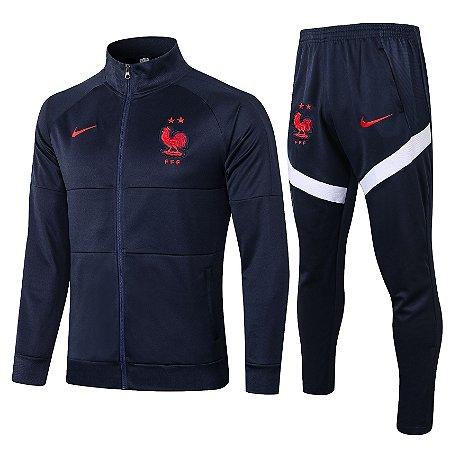 Conjunto França 20/21 Nike - Masculina