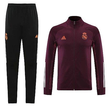 Conjunto Agasalho Real Madrid 2021 Adidas - Masculina
