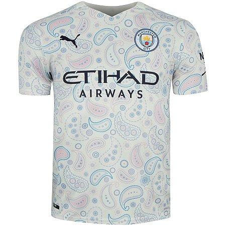 Camisa Manchester City III 20/21 Puma - Masculina