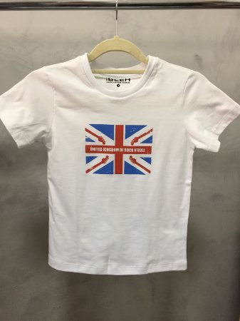 Camiseta United Kingdom em Branco - Infantil