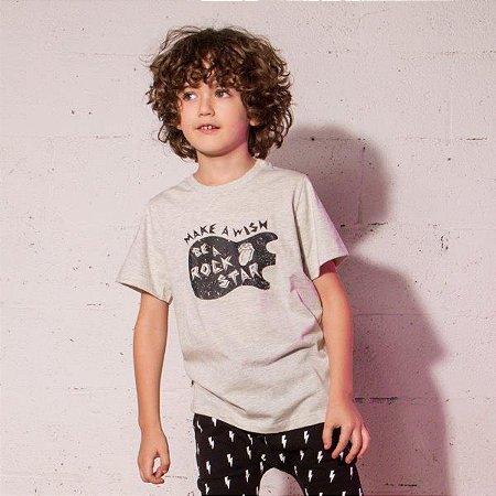 Camiseta Make a wish - Be a rock Star
