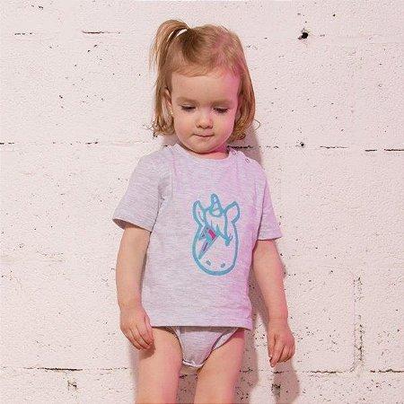 Body Camiseta Unicornio Bowie Mescla