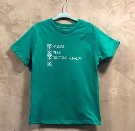 Camiseta Mitos Verde