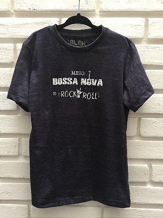 Camiseta Meio Bossa Nova & Rock´n Roll