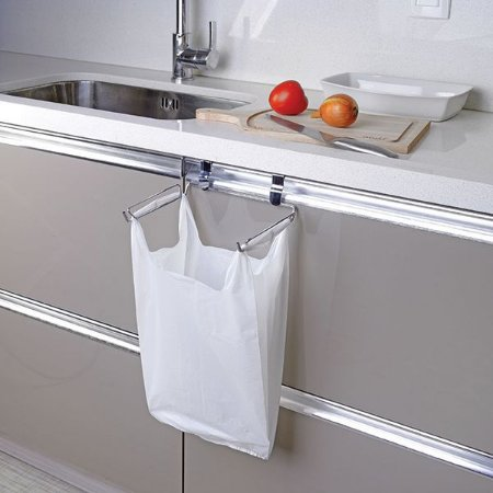 Porta Saco de Lixo Suporte Para Sacola Plástica Para Porta De Armário - Ref 1140