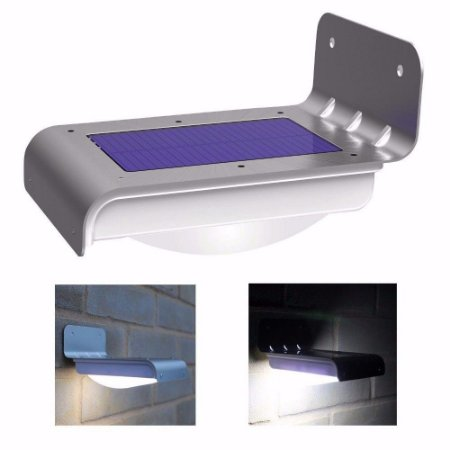 Lâmpada Solar 16 Leds Com Sensor De Movimento - Ref. Ch10
