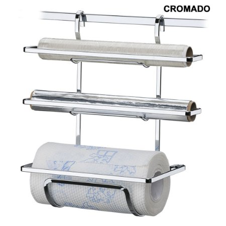 Porta Rolos Papel Toalha Alumínio Pvc Suporte Papel Toalha - Ref. 2801, 2801bz, 2801ox, 2801rg