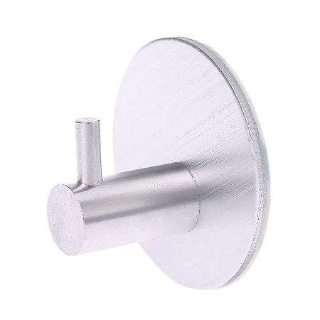 Gancho Cabide Multiúso Alumínio Adesivo Porta Toalha Roupas Utensílios Cozinha Banheiro Quarto - Ch45, Ch46, Ch61