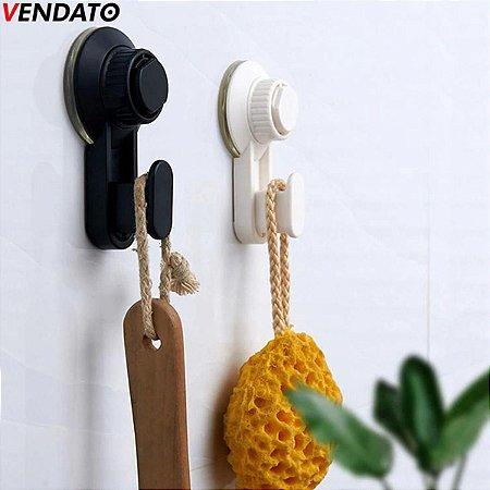 Toalheiro Porta Toalha com Ventosa Multiúso Toalheiro Luxo - Ref. CH75, CH76