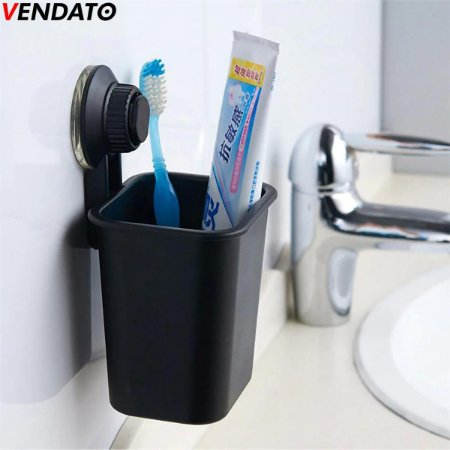 Porta Escovas e Creme Dental Suporte para Escovas de Dente e Pasta de Dente Multiúso CH78