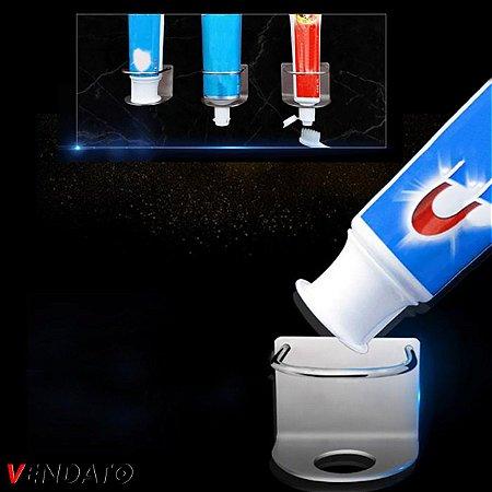 Porta Pasta de Dente Gancho Adesivo Aço Inoxidável Multiúso Banheiro  - CH158