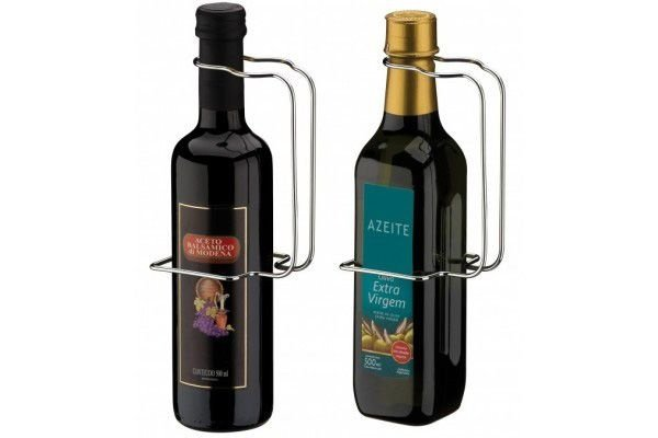 Suporte Alça para Garrafa De Azeite Ou Vinagre 500ml - Ref. 2235