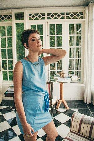 Vestido Nó Azul Serenity