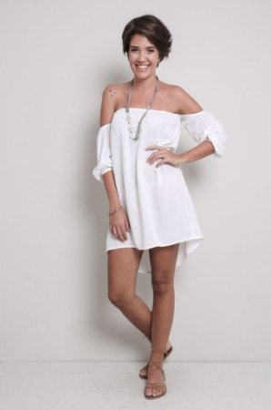 Vestido Bata Branco