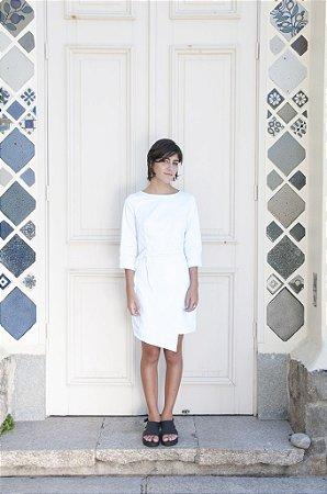 Vestido Envelope branco