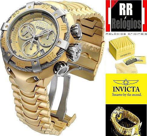 d4d1aeadf62 Relógio Invicta Thunderbolt 21345 - Banhado a ouro 18k - RR Relógios