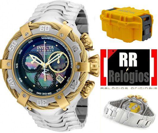 ab09a91332a Relógio Invicta Thunderbolt 21355 - Banhado a ouro 18k - RR Relógios