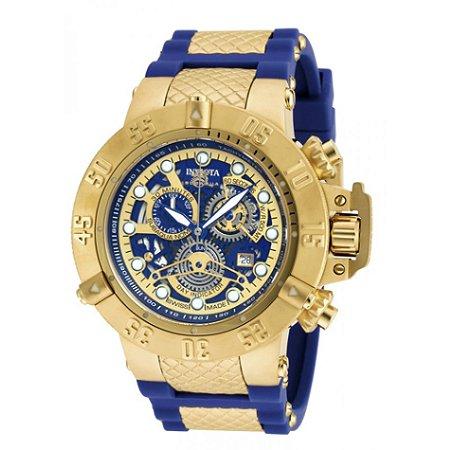 4296522a07d Relógio Invicta Subaqua Noma 3 18527 banhado a ouro original - RR ...