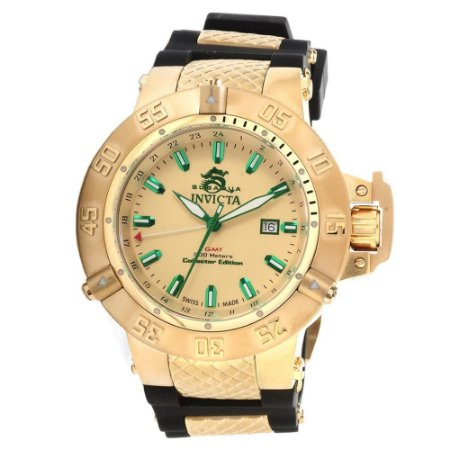 e7aa2d19156 Relógio Invicta Subaqua Noma 3 13921 banhado a ouro original - RR ...