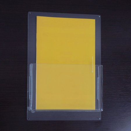 Porta folder A5 vertical de parede