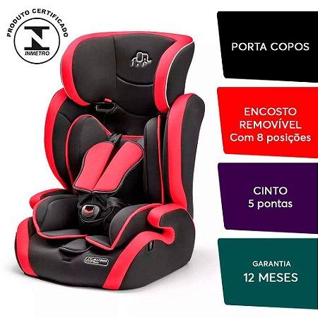 Cadeirinha Cadeira Carro Encosto Ajustável 9 A 36kg Bb519