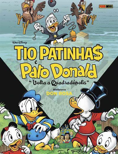 Tio Patinha$ e Pato Donald: Volta a Quadrópolis