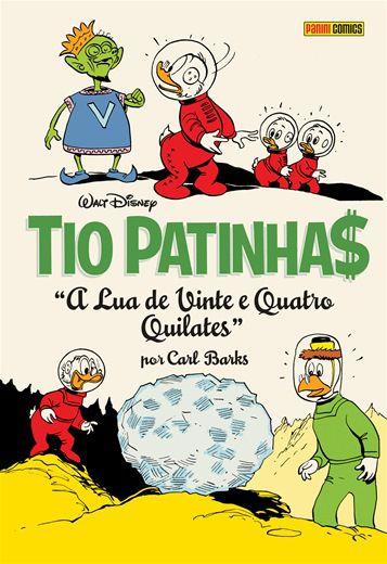 Tio Patinhas: A Lua de 24 Quilates Coleção Carl Barks Definitiva vol.08