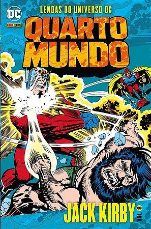 LENDAS DO UNIVERSO DC - QUARTO MUNDO 8 - PANINI