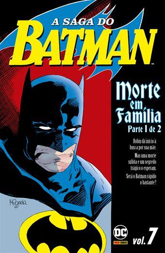 A saga do Batman vol.07