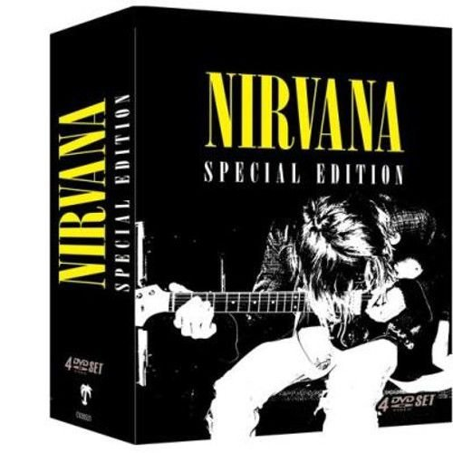 Box DVD's Nirvana Special Edition