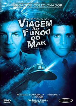 Box DVD's Viagem ao Fundo do Mar 1ª Temporada Volume 1