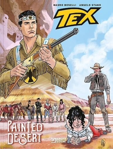 Tex Graphic Novel-Drama no Deserto