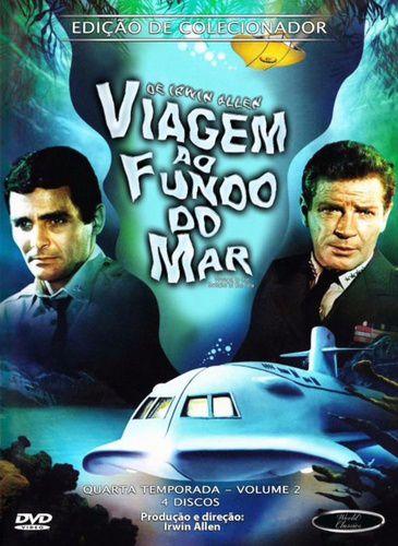 Box DVD's Viagem ao Fundo do Mar 4ª Temporada Volume 2