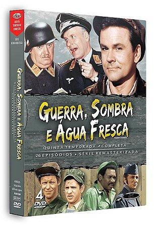 Box DVD Guerra Sombra e Água Fresca 5ª Temporada