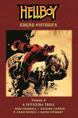 Hellboy Edição Histórica-Volume 8